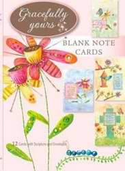 Card-Boxed-Blank-Whimsical Blessings (Siebert) #68 (Box Of 12) (Pkg-12)