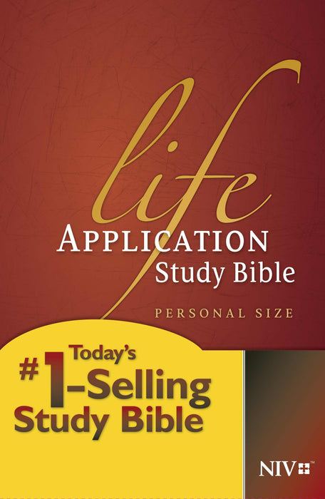 NIV Life Application Study Bible/Personal Size-Hardcover