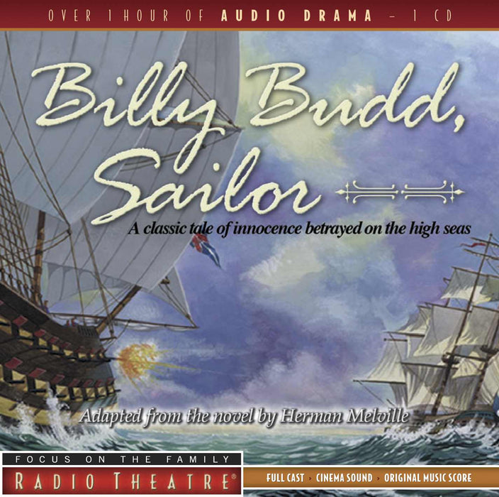 Audiobook-Audio CD-Billy Budd, Sailor (Focus On The Family Radio Theatre)