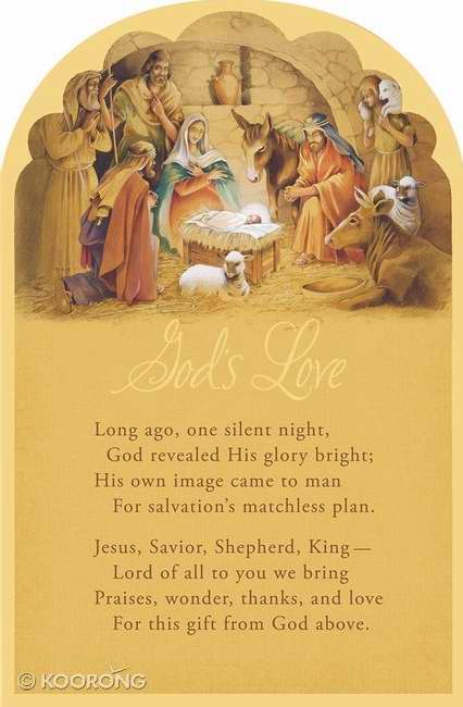 Card-Boxed-God's Love-Manger (Box Of 18) (Pkg-18)