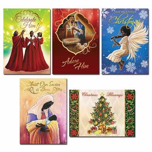 Card-Boxed-Christmas Assortment #A-808 (Pack Of 15) (Pkg-15)