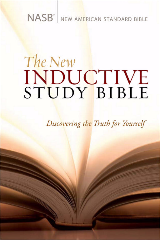 NASB New Inductive Study Bible-Hardcover