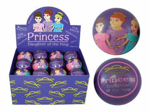 "Toy-Princess-Daughter of The King Bouncy Balls w/Display (2.75"") (Pack of 24) (Pkg-24)"