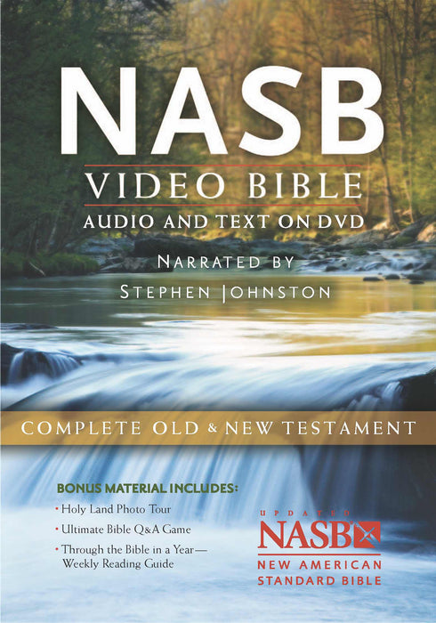 NASB Video Bible: Audio and Text On DVD (Voice Only)