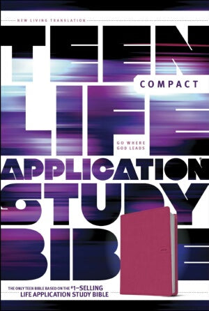 NLT2 Teen Life Application Study/Compact-Pnk Field