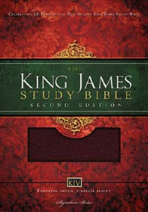 KJV King James Study Bible (Second Ed)-Brg Bond In