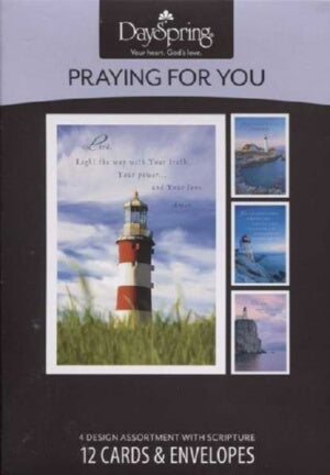 Pray For You-Lighthouses Boxed Cards