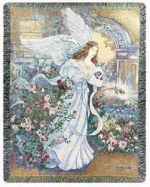 Throw-Angel Of Love (Tapestry) (50 x 60)