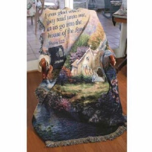 Throw-Church In The Country-Psalm 122:1 (Tapestry)