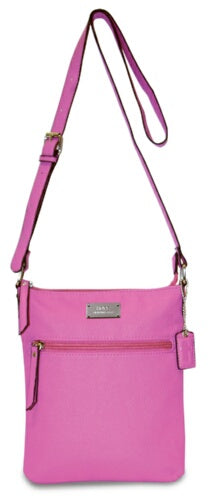 Purse-Crossbody-Fuchsia-Hope (8.5 X 10 X .375)