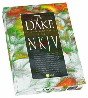 NKJV Dake Annotated Reference Bible-Blk Leathersof