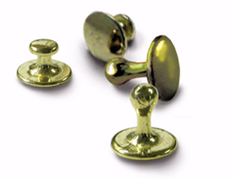 Clerical-Clergy Collar Studs-Gold (Pack of 4) (Pkg-4)