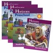 Horizons-Preschool For Threes Complete Curriculum Set