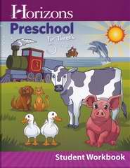 Horizons-Preschool For Threes Student Workbook