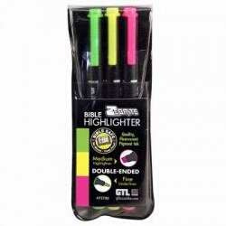 Zebrite Carded (Pk/3) Highlighter