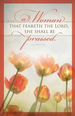 Mothers Day: She Shall Be Praised Bulletin