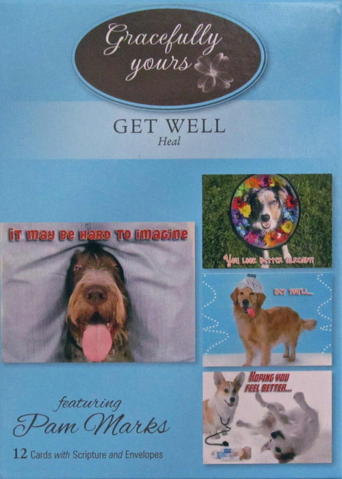 Card-Boxed-Get Well-Heal #120 (Box Of 12)