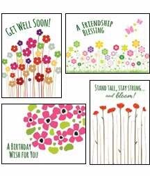 All Occ-Bouquet Of Blessings Boxed Cards