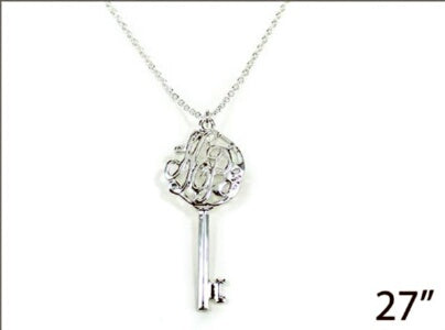 Key Hope-Silver Necklace