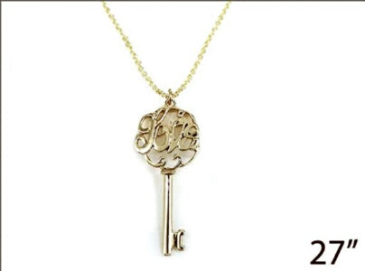 Key Love-Gold Necklace