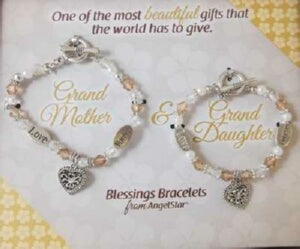 Blessings-Grandmother & Granddaughter-Gif Bracelet