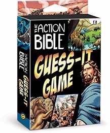 Game-The Action Bible Guess-It Card Game