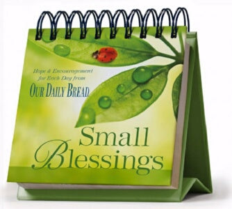 Small Blessings (Our Daily Bread) (Perpetual) Calendar