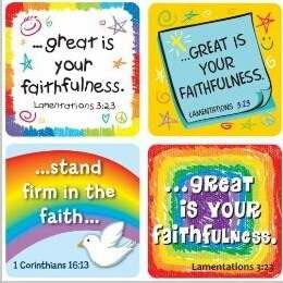 Sticker-Great Is Your Faithfulness