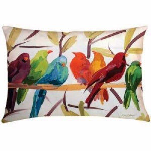 Pillow-Flocked Together-Indoor/Outoor Climaweave (