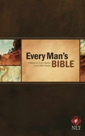 NLT2 Every Mans Bible-HC (Apr)