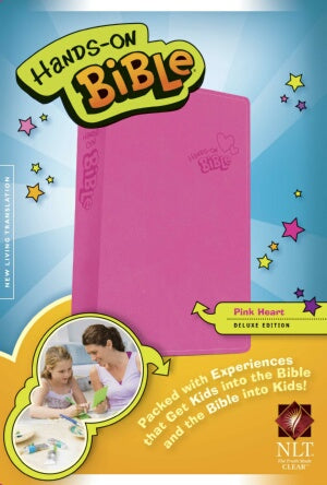 NLT2 Hands-On Bible (Updated Edition)-Pink Heart L