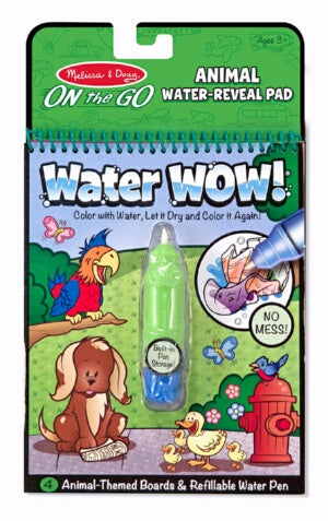 Water Wow-Animals Coloring Book