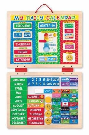 My First Daily Magnetic Calendar (90 Magnets) (Ages 3+)