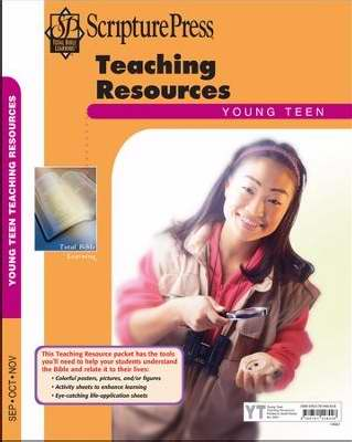 Scripture Press Fall 2018: Young Teen Teaching Resources (#4061)