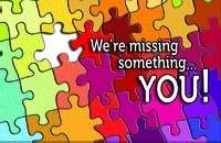 Postcard-Missed You-Were Missing Something/Puzzle (Pack Of 25) (Pkg-25)