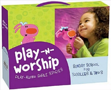 Play-N-Worship: Play-Along Bible Stories For Toddl