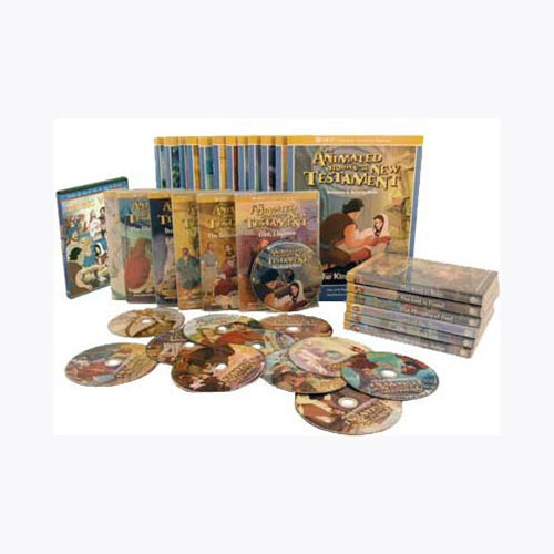 Spanish - 12 Animated New Testament DVD Collection 1