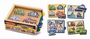 Puzzle-Vehicles Mini Pack (4 Puzzles) (Ages 2+)