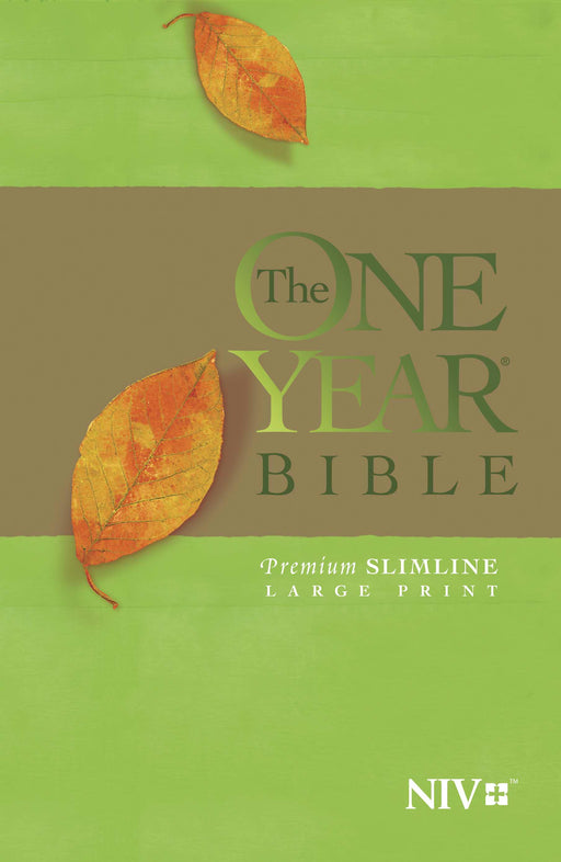 NIV One Year Bible Premium Slimline/Large Print-Softcover