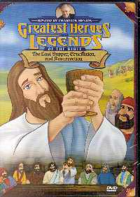 DVD-Greatest Heroes & Legends: The Last Supper/Crucifixion