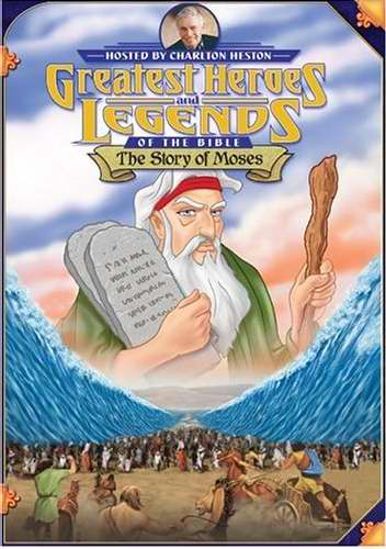 DVD-Greatest Heroes & Legends: Story Of Moses