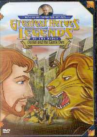 DVD-Greatest Heroes & Legends: Daniel & Lions' Den