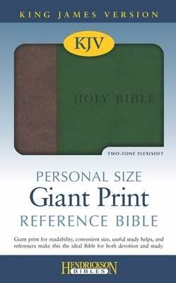 KJV Personal Size Giant Print Reference Bible-Brow