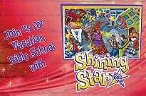VBS-Shining Star-Invitation Postcards (Pack of 25)