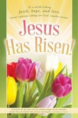 Jesus Has Risen! (Pack Of 100) Bulletin