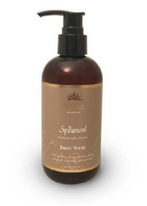 Bath Scents-Spikenard Body Wash W/ Pump-8 oz