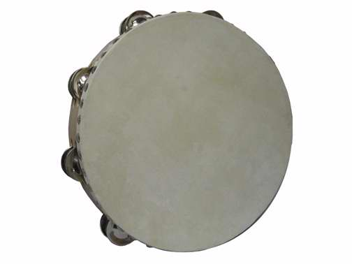 "Instrument-Tambourine-Wood-Large (10"" Double)"
