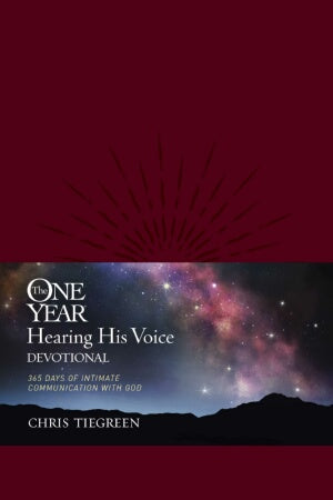 One Year Hearing His Voice Devotional-LeatherLike