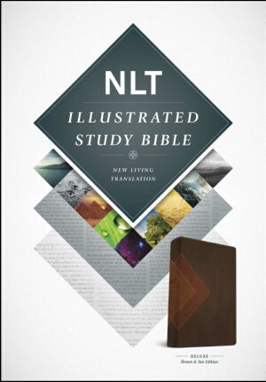 NLT2 Illustrated Study Bible-Brown/Tan TuTone