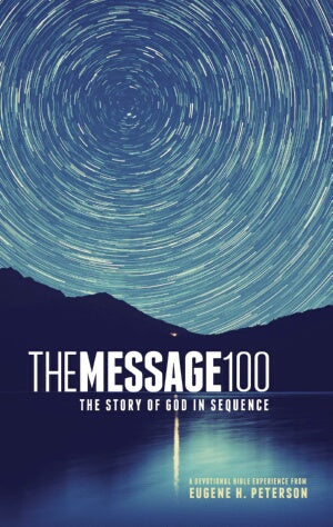 Message 100 Devotional Bible-Hardcover